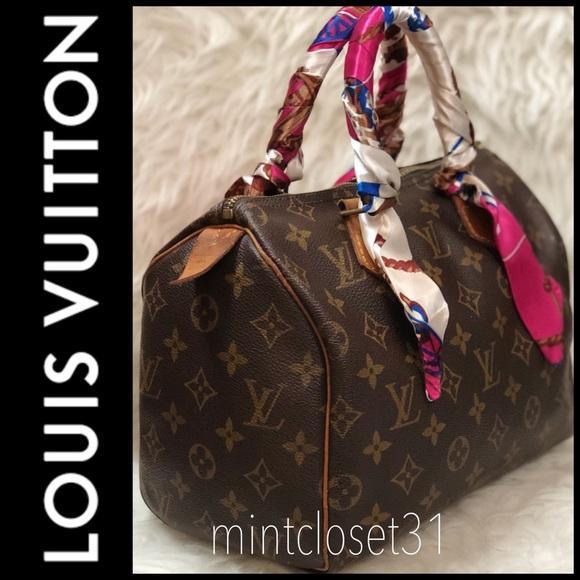 6001fc7fbda Louis Vuitton Handbags - Louis Vuitton Speedy 25